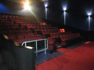 Conferencing screen at Leisure Cinemas