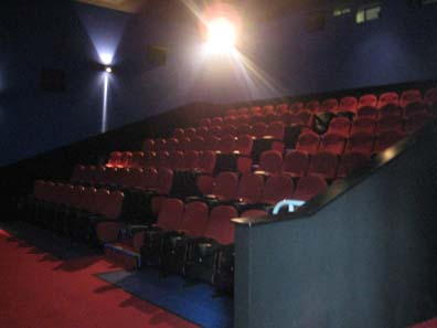 Second Conferencing Screen Leisure Cinemas